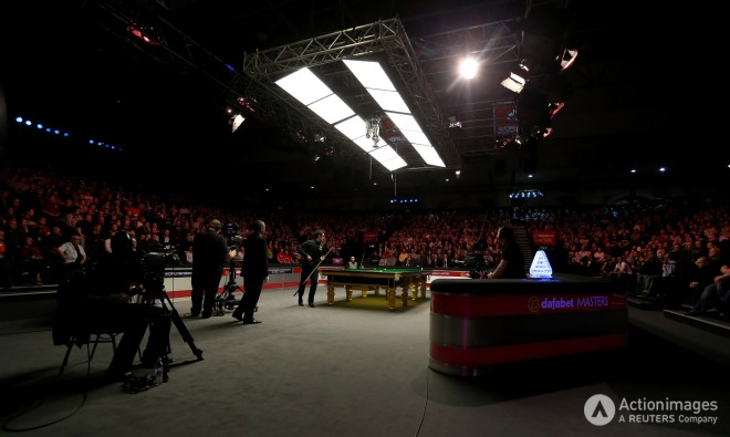 General view of Ronnie O'Sullivan during the final steven paston keep