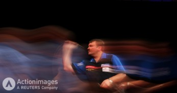 Darts - 2011 Ladbrokes.com World Darts Championship - Alexandra Palace, London - 30/12/10 Terry Jenkins in action during his third round match Mandatory Credit: Action Images / Steven Paston Livepic